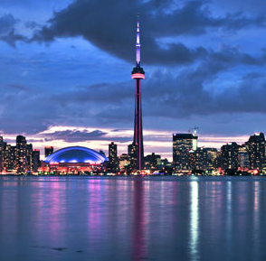 Image of downtown Toronto Canada Contact ZOOM Media