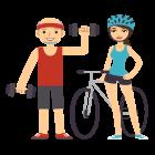 Generation Active consommateurs entre 18 et 49 faisant de l'exercice
