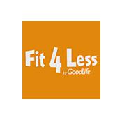 Fit 4 Less Health Club Canada logo