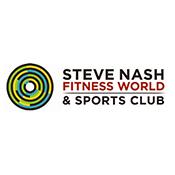 Steve Nash Health Club Canada logo
