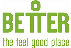 Better the feel good place uk gym logo