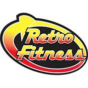 Retro Fitness Logo ZOOM Media Partner Health Club Video Network
