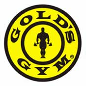Golds Gym Logo ZOOM Media Partner Health Club Video Network