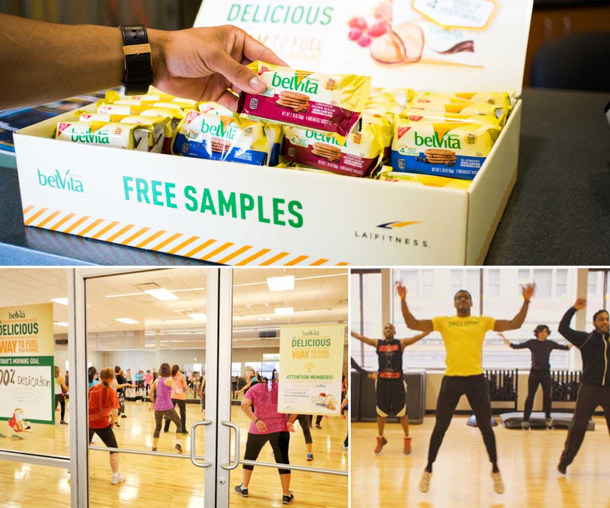 BelVita's ZOOM Media Campaign Collage Sampling Sponsored Classes Case Studies