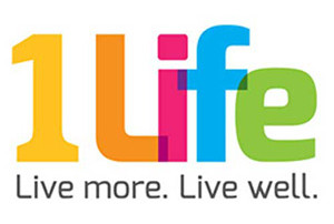 1life UK active lifestyle gym logo