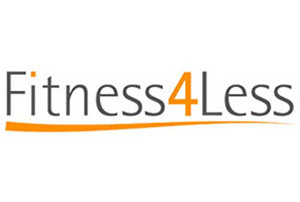fitness4less UK gyms logo