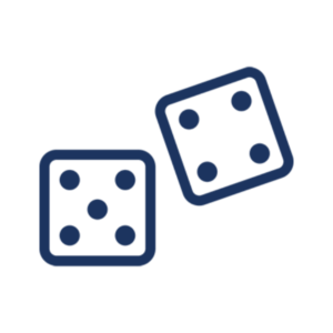Icon illustration of dice