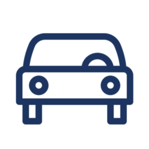 Icon Illustration of a motor car